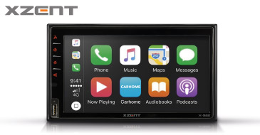 XZENT X-522: 2-DIN Infotainer mit Apple CarPlay und Google Android Auto