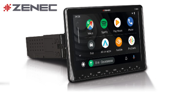 ZENEC Z-N965: 1-Din Autoradio mit CarPlay und Android Auto