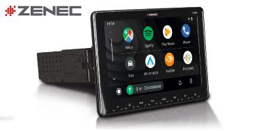 ZENEC Z-N965: 1-Din Autoradio mit CarPlay und Android Auto